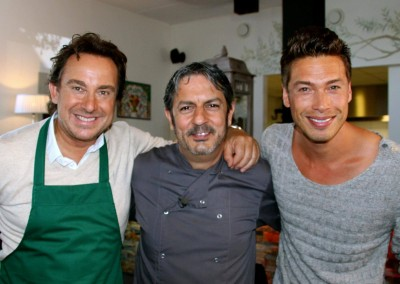 Marco Borsato en Giovanni Caminita